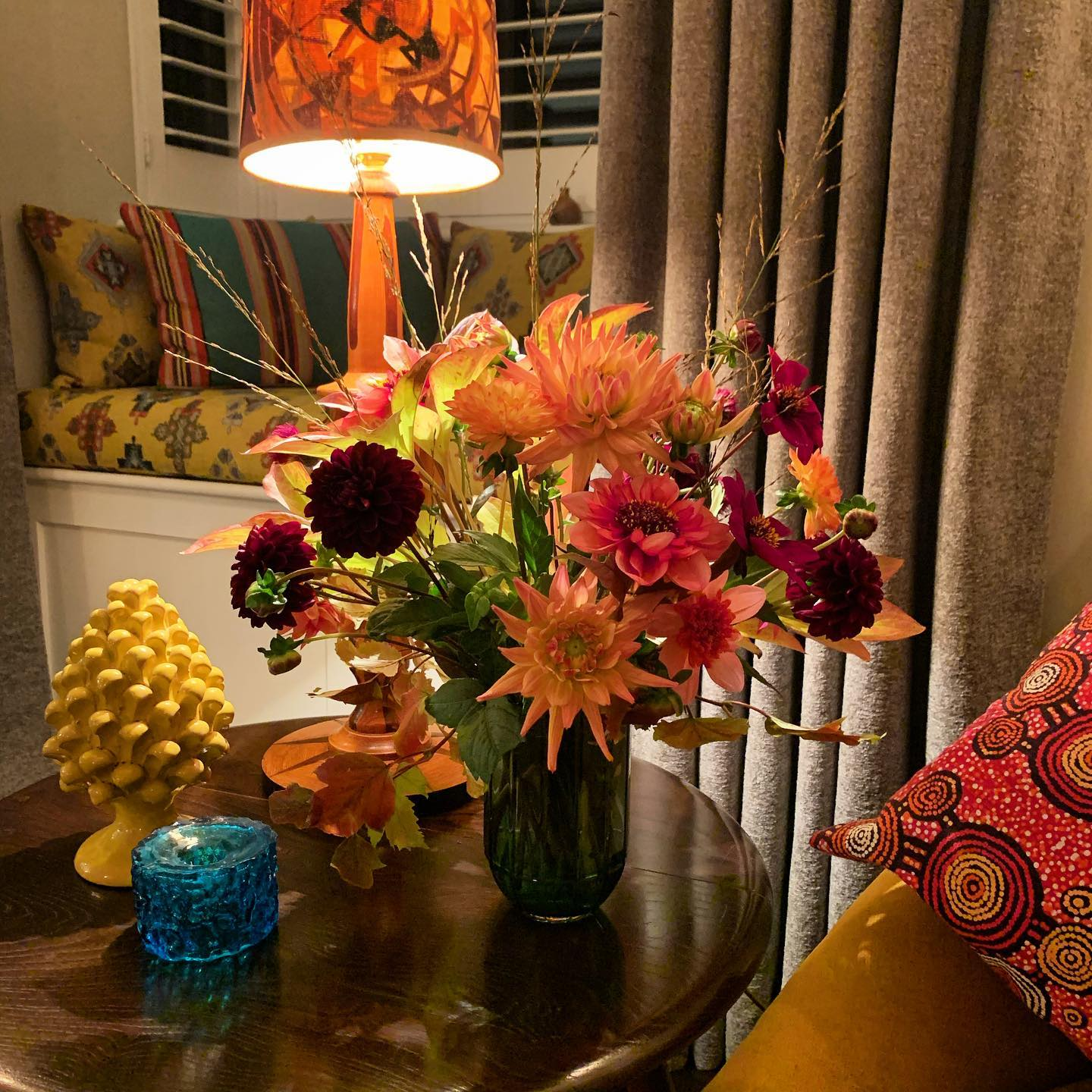 Homegrown Autumn in a vase