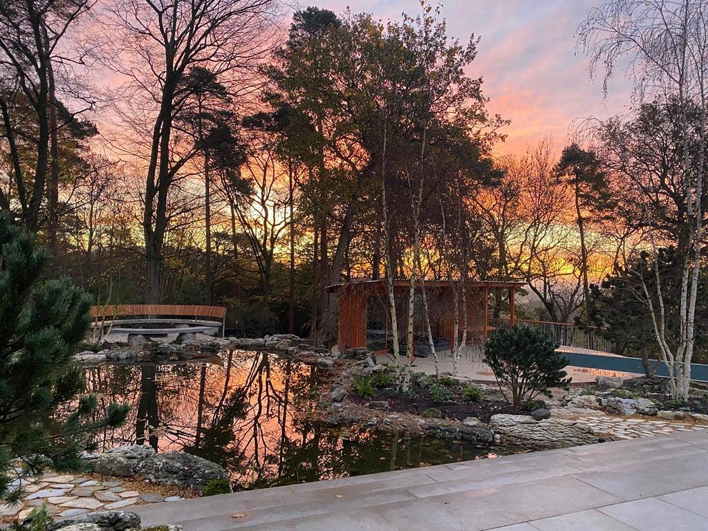 Love it when your client sends you through a pic of a magical moment they've just experienced in their new garden. Can't wait to watch this garden grow next year and provide lots more special moments @surmanweston @belderboslandscapes @waterartisans @clear_water_revival
